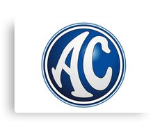 AC - Classic Car Logos Canvas Print