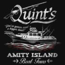 Quint's Boat Tours by Punksthetic