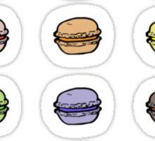 macaron assortment Sticker