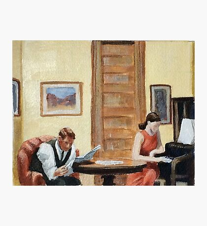 After Hopper Room in New York Photographic Print