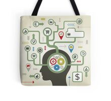 Business a head8 Tote Bag