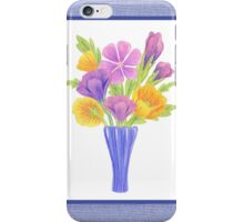 Baby Blue Flower Bouquet  iPhone Case/Skin