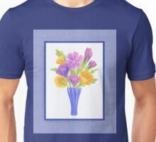Baby Blue Flower Bouquet  Unisex T-Shirt
