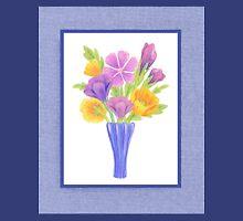Baby Blue Flower Bouquet  Unisex T-Shirt