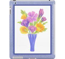 Baby Blue Flower Bouquet  iPad Case/Skin