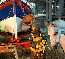 The Lifeboat Man and his Horse #2 by DonDavisUK