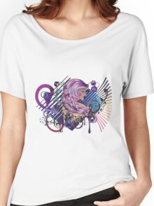 Music Girl 3 Women's Relaxed Fit T-Shirt