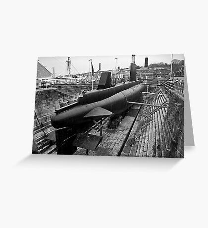 HMSM Ocelot: Royal Navy Submarine  Greeting Card