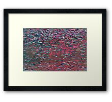 Underwater Abstract Gallery - Piece 7 (Watercolor) Framed Print