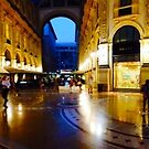 360° Galleria Vittorio Emanuele shopping Center - Milan, Italy by Atanas Bozhikov NASKO