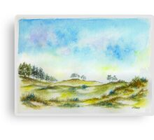 DUTCH DUNES Canvas Print