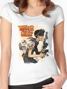 Tanker Girl Women's Fitted Scoop T-Shirt