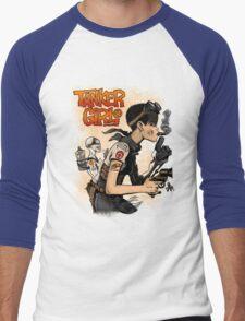 Tanker Girl Men's Baseball ¾ T-Shirt