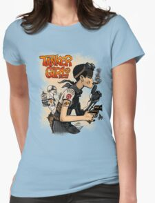 Tanker Girl Womens Fitted T-Shirt