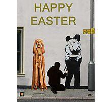 Street Art Scream Police Photographic Print