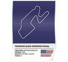 Watkins Glen International - v2 Poster