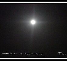 FULL MOON..3/18/2011- WITH A CROSS  by Sherri     Nicholas