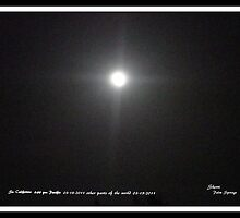 FULL MOON..3/18/2011- WITH A CROSS  by Sherri     Nicholas