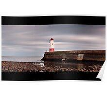 Berwick Pier long exposure Poster