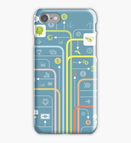 Business a line iPhone Case/Skin