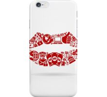 Business a lip iPhone Case/Skin