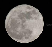 Super MOON over Spijkenisse  by Moonen