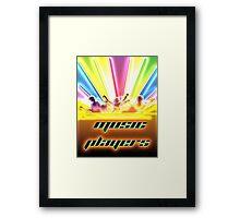 Music Players Framed Print