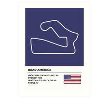 Road America - v2 Art Print