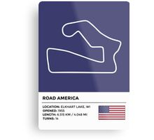 Road America - v2 Metal Print