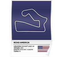 Road America - v2 Poster