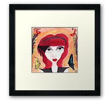 Afternoons are the worst, my butterflies Framed Print