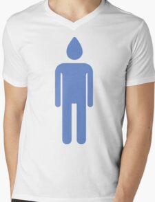 Conehead Mens V-Neck T-Shirt
