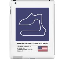 Sebring International Raceway - v2 iPad Case/Skin