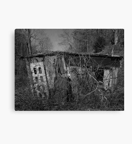House of Silence Canvas Print