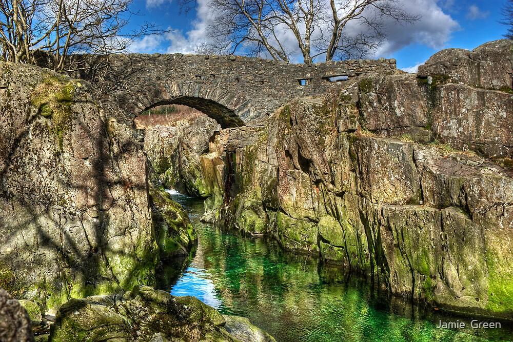Birks Bridge,River Duddon by Jamie  Green