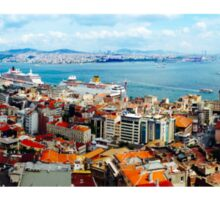 The Golden Horn of Istanbul, TURKEY Sticker