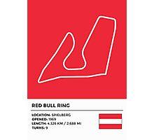 Red Bull Ring - v2 Photographic Print