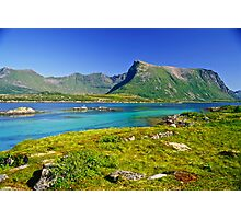 The Magic of Colors  -  Lofoten Islands . Norway . by Brown Sugar . Favorites: 2 Views: 507 . Thank you !!!!   dziękuję !!! Photographic Print
