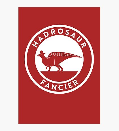 Hadrosaur Fancier Photographic Print