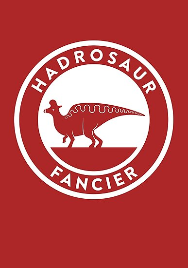 Hadrosaur Fancier by David Orr