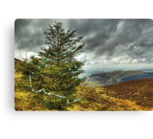 It's Beginning To Look A Lot Like Christmas.. Canvas Print