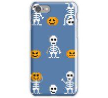 Halloween Pixel Pattern iPhone Case/Skin