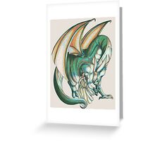 Dragon's Song Greeting Card