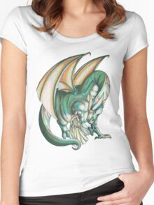 Dragon's Song Women's Fitted Scoop T-Shirt