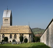 The Church at Selsley, Stroud, Gloucestershire by Jeff  Wilson