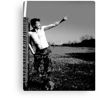 Check It Out! Canvas Print