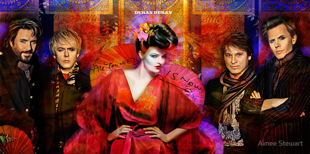 Duran Duran Contest Entry: I need your vote! by Aimee Stewart