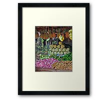 5 a Day Helps You Work Rest and Play Framed Print
