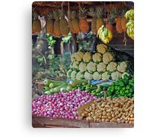5 a Day Helps You Work Rest and Play Canvas Print