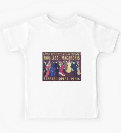 Leonetto Cappiello Pâtes Ferrari Kids Tee